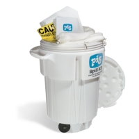 PIG® Oil-Only Spill Kit in 95-Gallon Wheeled Overpack Salvage Drum