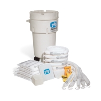 PIG® Oil-Only Spill Kit in 50-Gallon Wheeled Overpack Salvage Drum