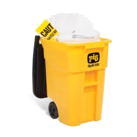 PIG® Oil-Only Spill Kit in High-Visibility Mobile Container