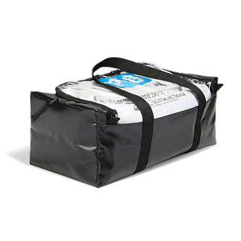 PIG® Oil-Only Spill Kit in a Clear-Top Duffel Bag