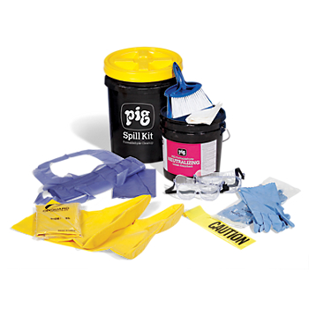 PIG® Formaldehyde Spill Kit in Bucket