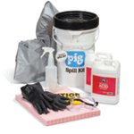 PIG® Hydrofluoric Acid Neutralizing Spill Kit in Bucket
