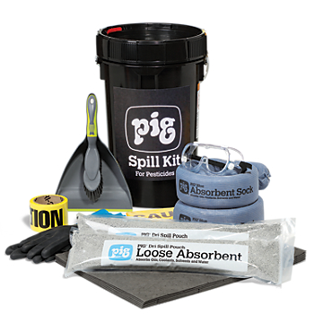 PIG® Pesticide Spill Kit in Bucket