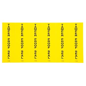 Tamperproof Seal Label