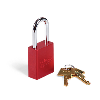 Keyed-Different Aluminum Padlock