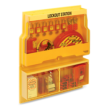 Stocked Deluxe Lockout Station