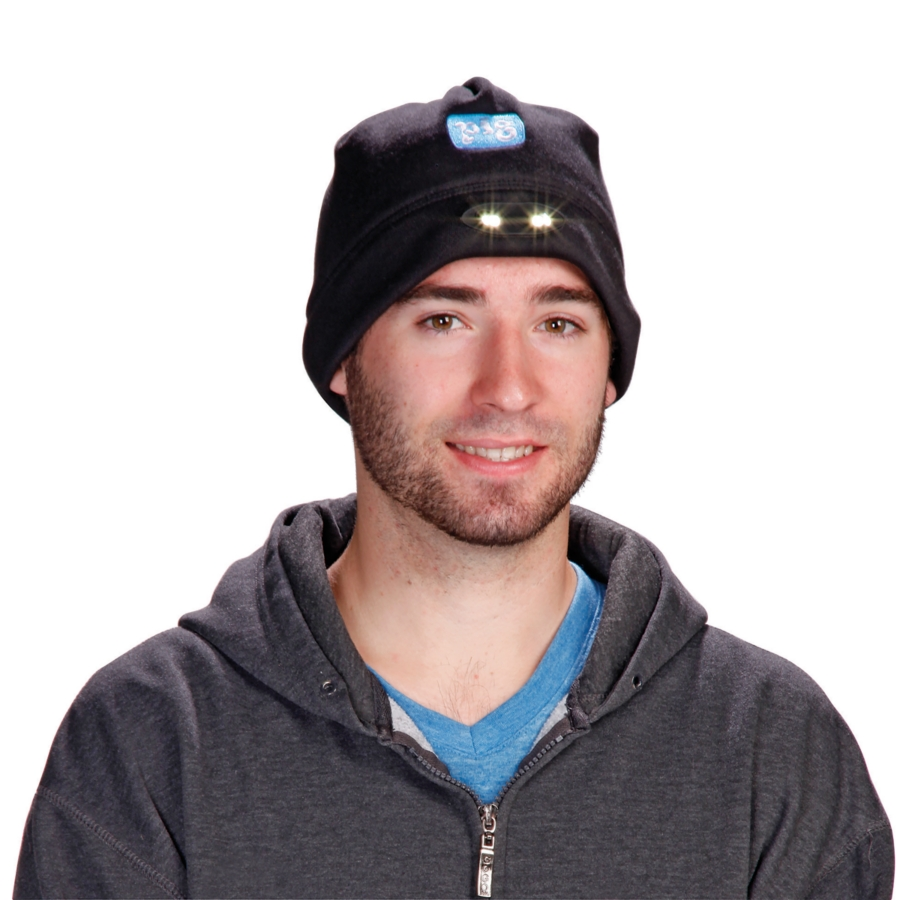 LED Fleece Hat