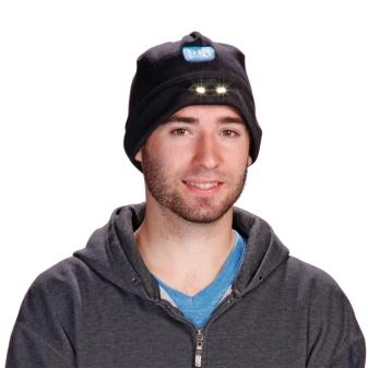 LED Fleece Hat Promo Image