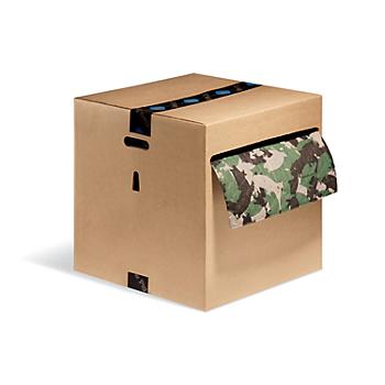 PIG® Green Ham-O® Absorbent Mat Roll in Dispenser Box