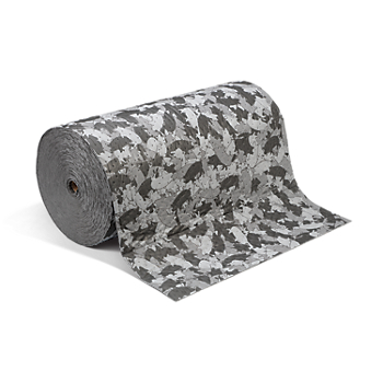 PIG® Gray Ham-O® Absorbent Mat Roll
