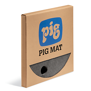 PIG® Barrel Top Absorbent Mat