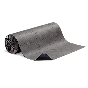 PIG® Elephant Absorbent Mat Roll with Poly Backing