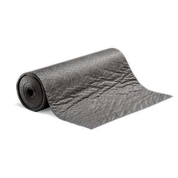 PIG® Absorbent Mat Roll with Poly Backing