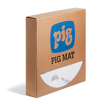 PIG® Oil-Only UV-Resistant Absorbent Barrel Top Mat