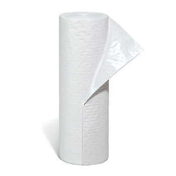 PIG® Oil-Only Absorbent Mat Roll with Poly Backing
