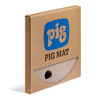 PIG® Oil-Only Barrel Top Absorbent Mat