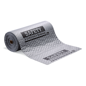 PIG® Chat Mat® Gray Absorbent Roll