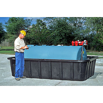 PIG® Tank Spill Containment Sump with Drain