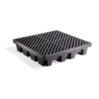 PIG® 4-Drum Poly Spill Containment Pallet