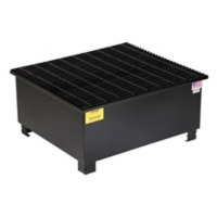 PIG™ 1-Drum Steel Spill Containment Pallet
