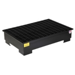 PIG™ 2-Drum Steel Spill Containment Pallet