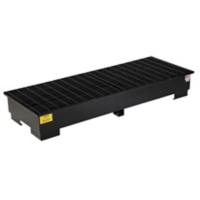 PIG™ 3-Drum Steel Spill Containment Pallet