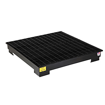 PIG™ 4-Drum Steel Spill Containment Pallet