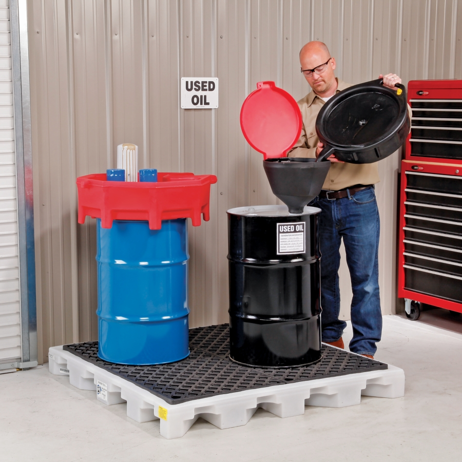 Customer Questions: Grounding and Bonding Drums of Flammable