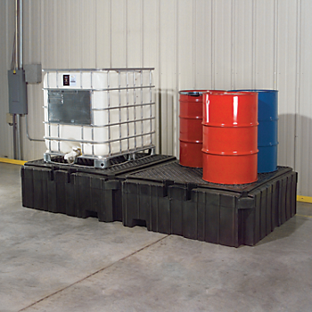 PIG® Twin Poly IBC Spill Containment Pallet
