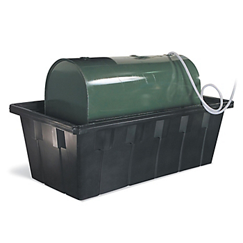 PIG® Tank Spill Containment Unit with Drain