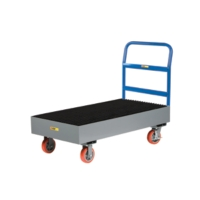Steel Spill Containment Cart
