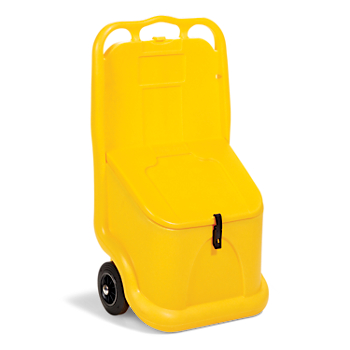 Mobile Cart for Loose Absorbents