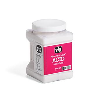 PIG® Absorb-&-Lock® Acid Absorbent
