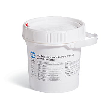 PIG® Acid Encapsulating & Neutralizing Loose Absorbent