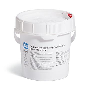 PIG® Base Encapsulating/Neutralizing Loose Absorbent