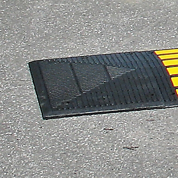 End Cap for SAFETY RIDER™ Speed Hump