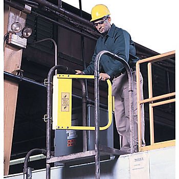 EdgeHalt® Ladder Safety Gate