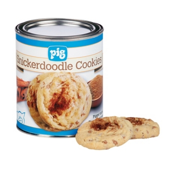 Tin Of Snickerdoodle Cookies Image