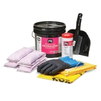 Refill for PIG® Battery Acid Spill Kit in See-Thru Bin