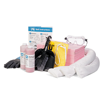 Refill for PIG® HazMat Spill Kit in UV-Resistant Wall-Mount Cabinet