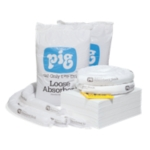 Refill for PIG® Oil-Only Spill Kit in Large Mobile Container