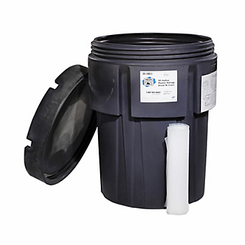 Empty 95-Gallon Overpack for PIG® Transformer Spill Kit