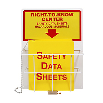 Right-to-Know SDS Center