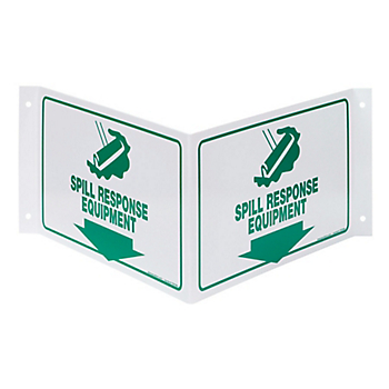 Spill Response Equipment 3D Projection Sign