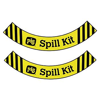 Floor Label for PIG® Spill Kit