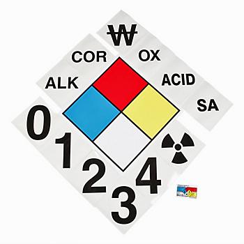 Vinyl Hazardous Material Signals Kit