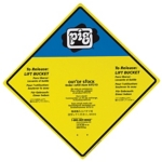 Sign for PIG® Spill Kit in Bucket