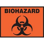 Biohazard Hazard Warning Label