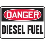 Danger Diesel Fuel Sign