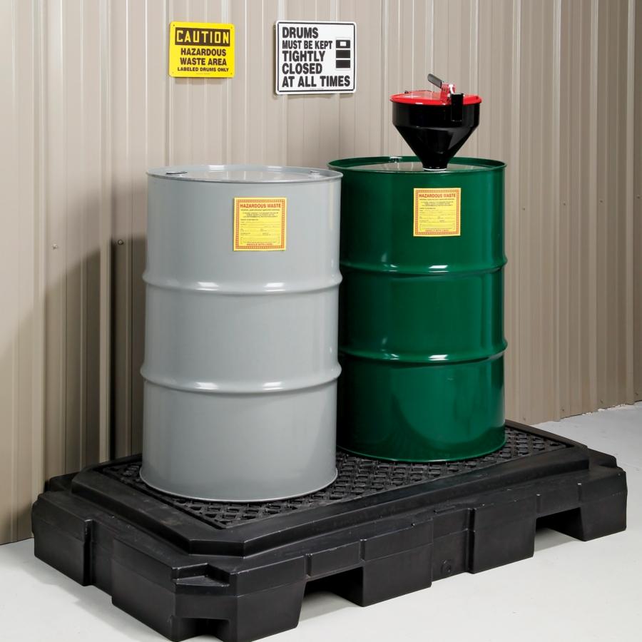hazardous waste storage containers